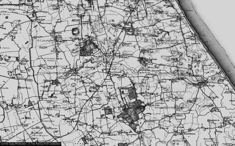 Old Map of Marton, 1897 in 1897