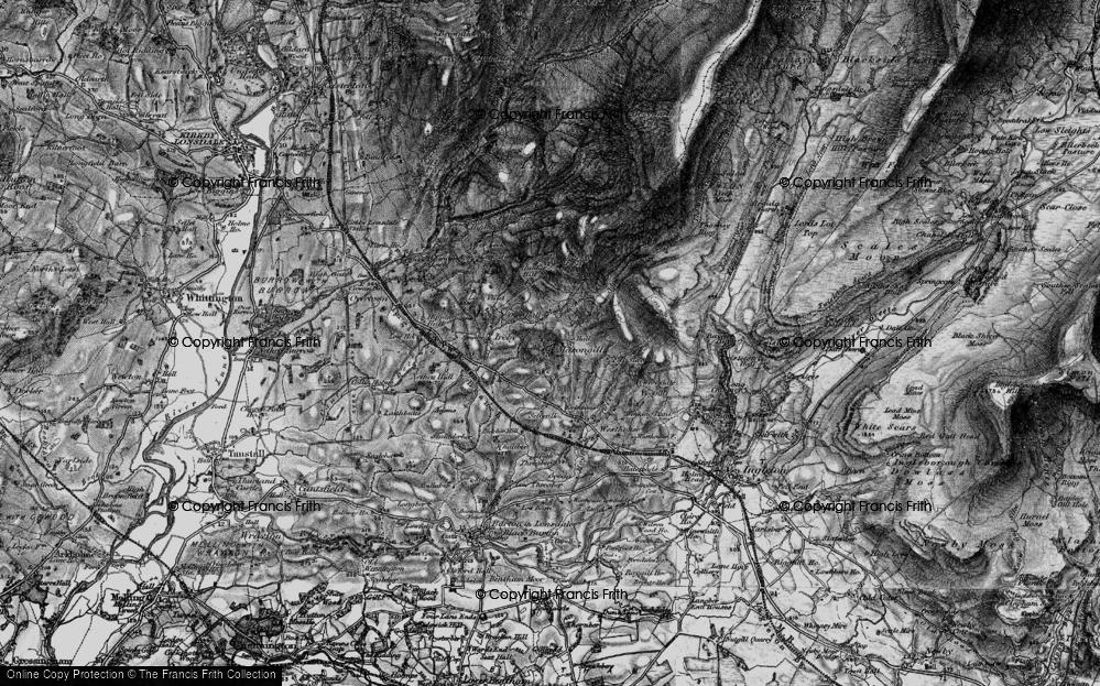 Old Map of Masongill, 1898 in 1898