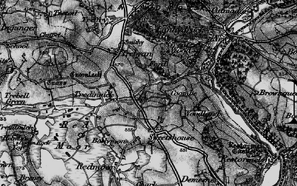 Old map of Maudlin in 1895