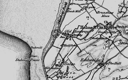 Old map of Allerdale Ramble in 1897