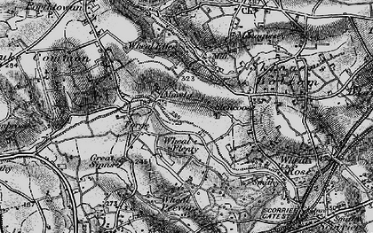 Old map of Wheal Plenty in 1895