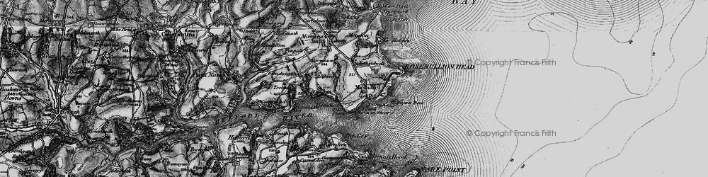 Old map of Toll Point in 1895