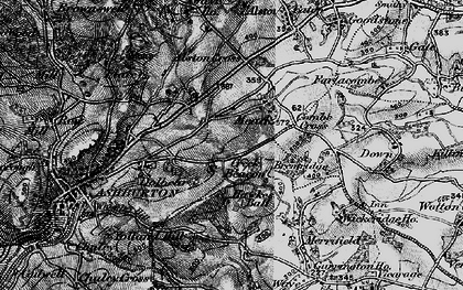 Old map of Whistley Hill in 1898