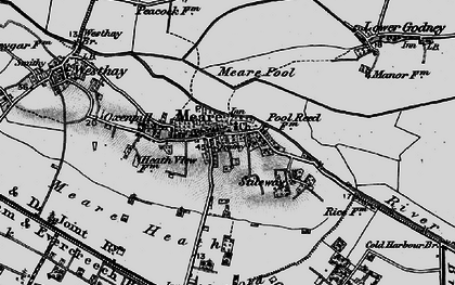 Old map of Abbot's Fish Ho in 1898