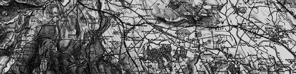 Old map of Leacet Hill in 1897