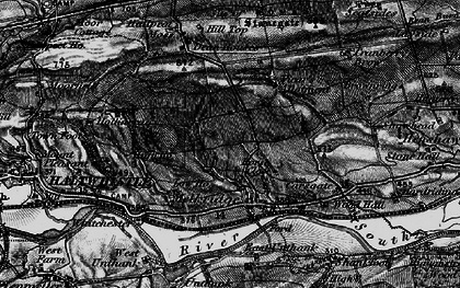 Old map of Winshields in 1897