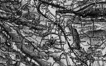 Old map of Mire Beck in 1898