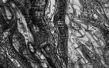 Old map of Tir-Cook in 1898
