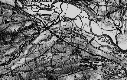 Old map of Bail Green in 1897