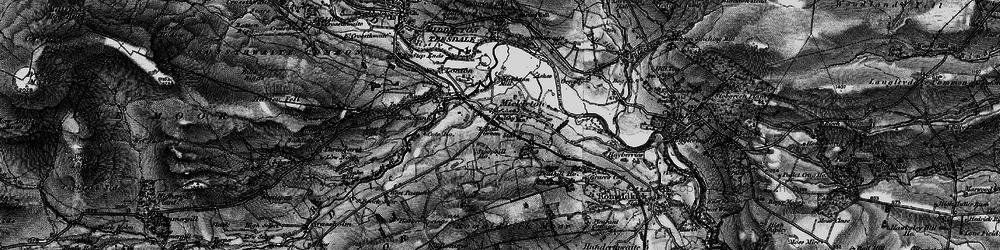 Old map of Mickleton in 1897