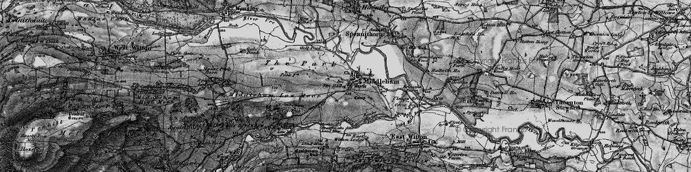 Old map of Williams Hill in 1897