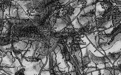 Old map of Middlehill in 1895