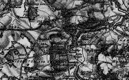 Old map of Arbor Low in 1897