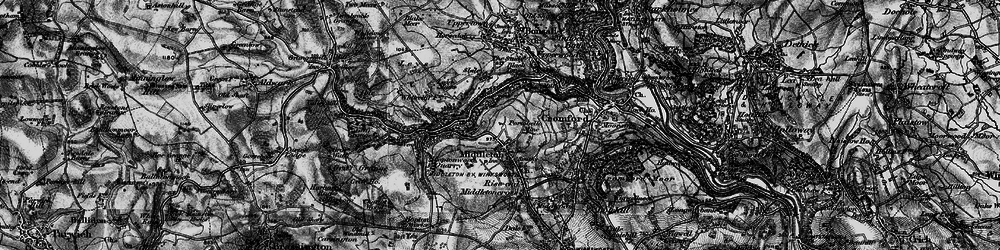 Old map of Middleton in 1897
