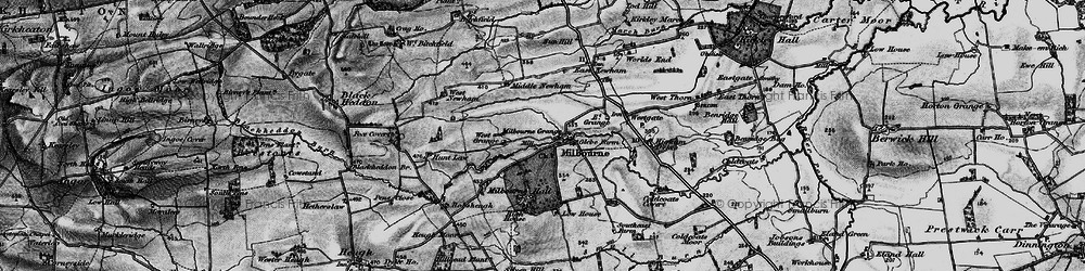 Old map of Westgate in 1897