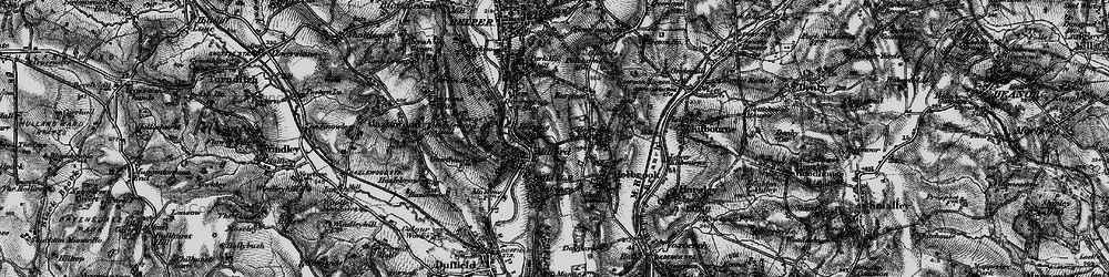Old map of Milford in 1895