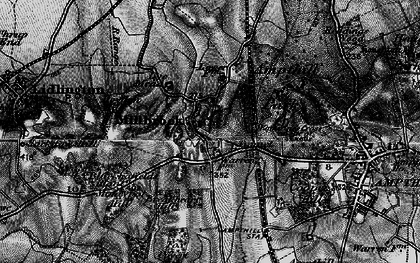 Old map of Ampthill Park Ho in 1896