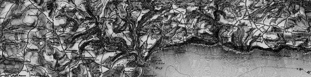 Old map of Windsworth in 1896