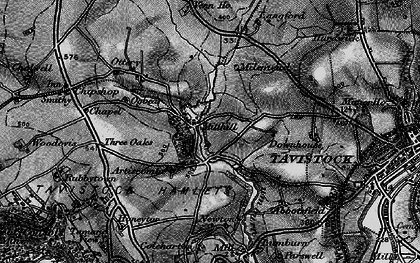 Old map of Artiscombe in 1896