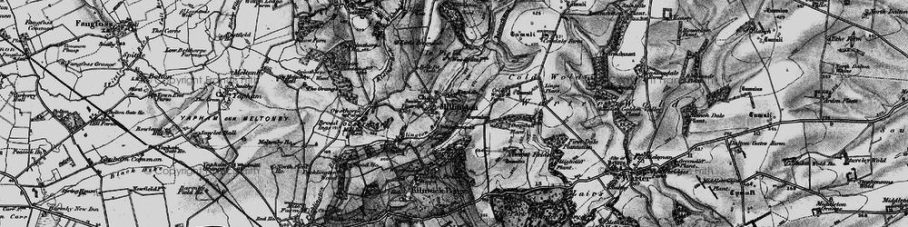 Old map of Whitekeld Dale in 1898