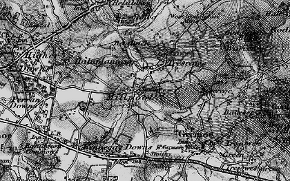 Old map of Millpool in 1895