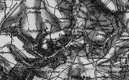 Old map of Milltown in 1895