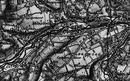 Old map of Milnsbridge in 1896