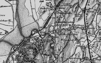 Old map of Milnthorpe in 1898