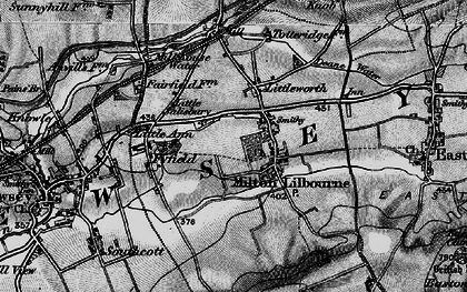 Old map of Milton Lilbourne in 1898