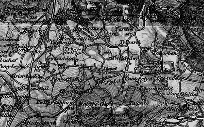 Old map of Ysgeirallt in 1898