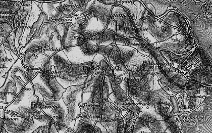 Old map of Mongleath in 1895