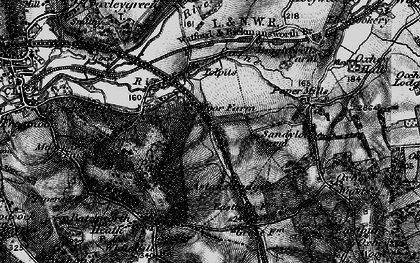 Old map of Tolpits Ho in 1896