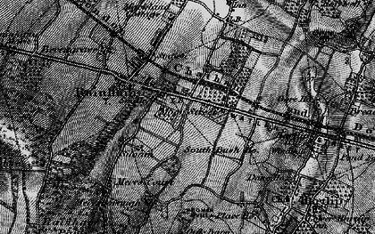 Old map of Moor Street in 1895