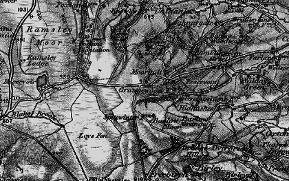 Old map of Moorhall in 1896