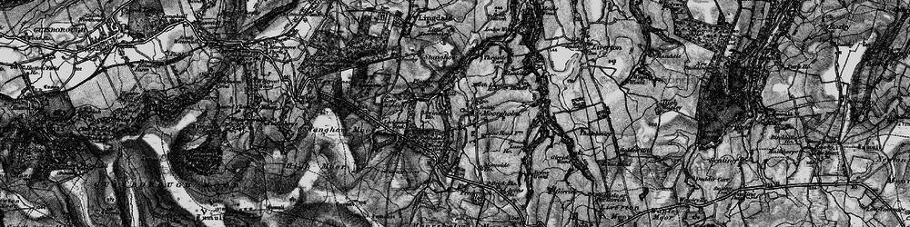 Old map of Moorsholm in 1898