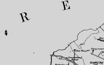 Old map of Woodhills in 1897