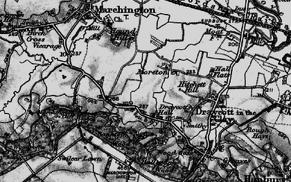 Old map of Banktop Wood in 1897