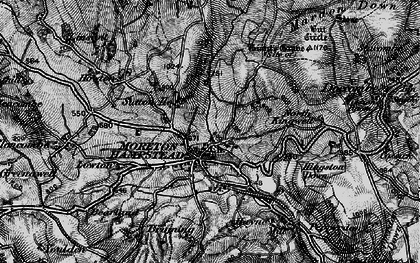 Old map of Willingstone in 1898