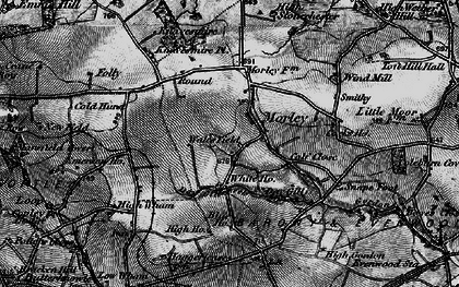 Old map of Wind Mill in 1897