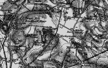 Old map of Morleymoor in 1895