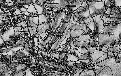 Old map of Mornick in 1896