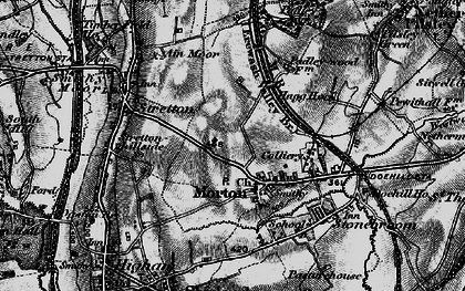 Old map of Morton in 1896