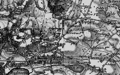 Old map of Aston Park in 1896