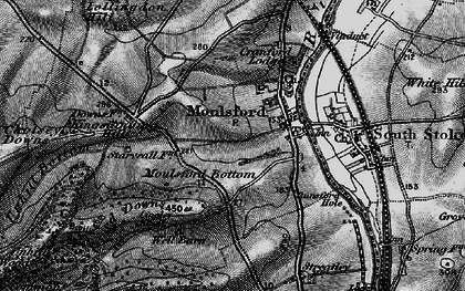 Old map of Moulsford in 1895