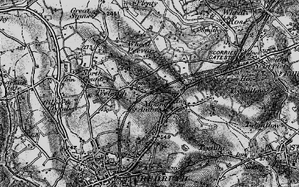 Old map of Mount Ambrose in 1895