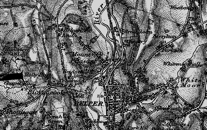 Old map of Mount Pleasant in 1895