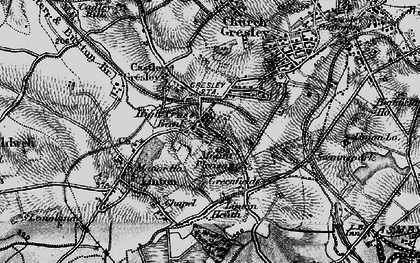 Old map of Mount Pleasant in 1898