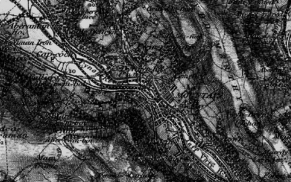 Old map of Mountain Ash in 1898