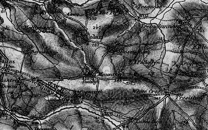 Old map of Mountjoy in 1895