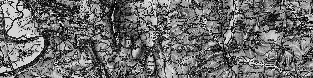 Old map of Much Marcle in 1896